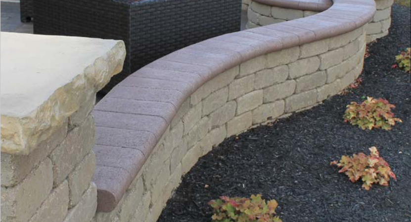 Oberfield S Bullnose Paver Design Harmony Hardscape Supply