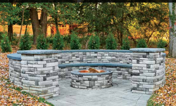DIY Fire Pit Installation - DIY Fire Pit Installation - Harmony Hardscape Supply