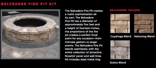 Oberfield's Fire Pit Kits - Harmony Hardscape Supply